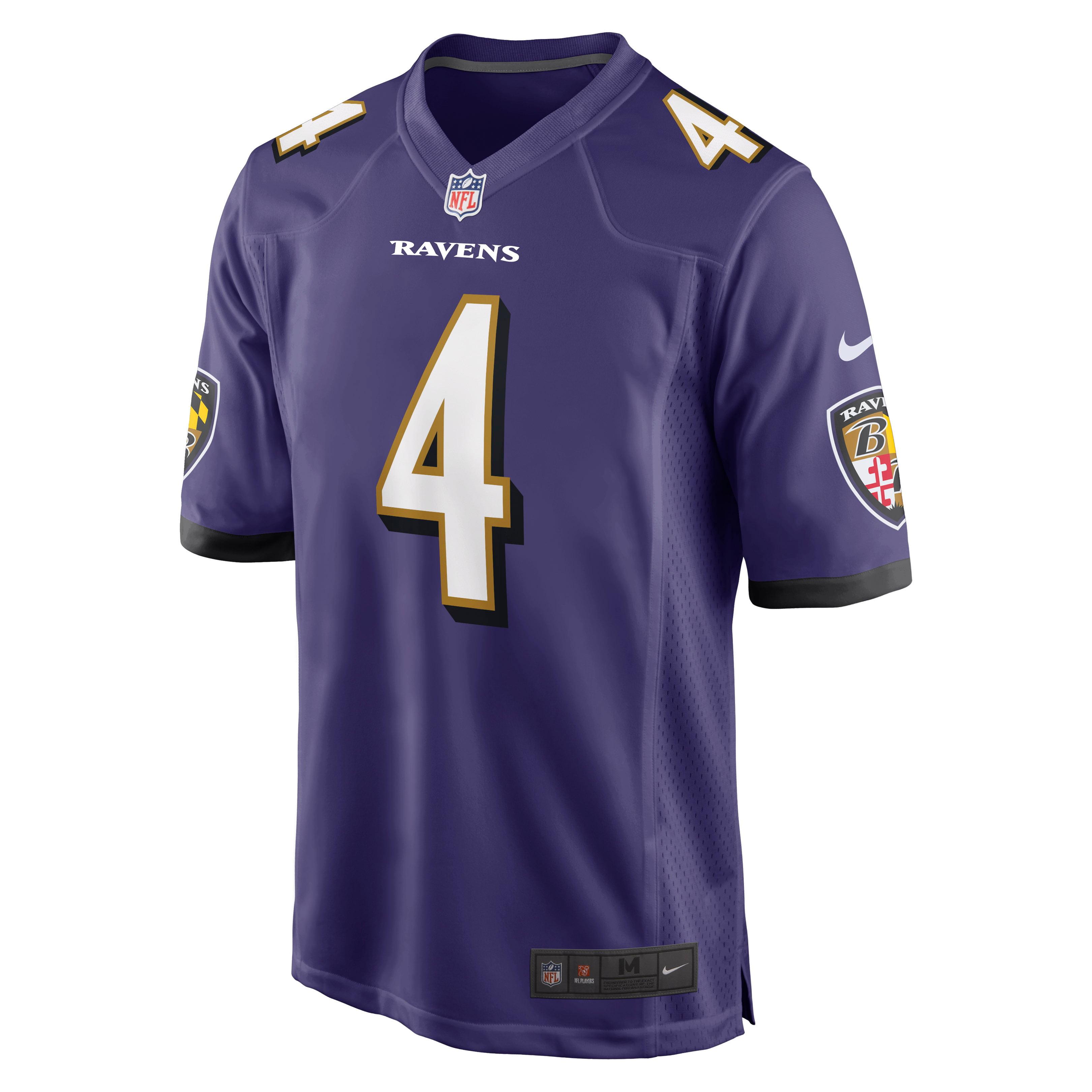 Sam Koch Baltimore Ravens Nike Game Jersey - Purple