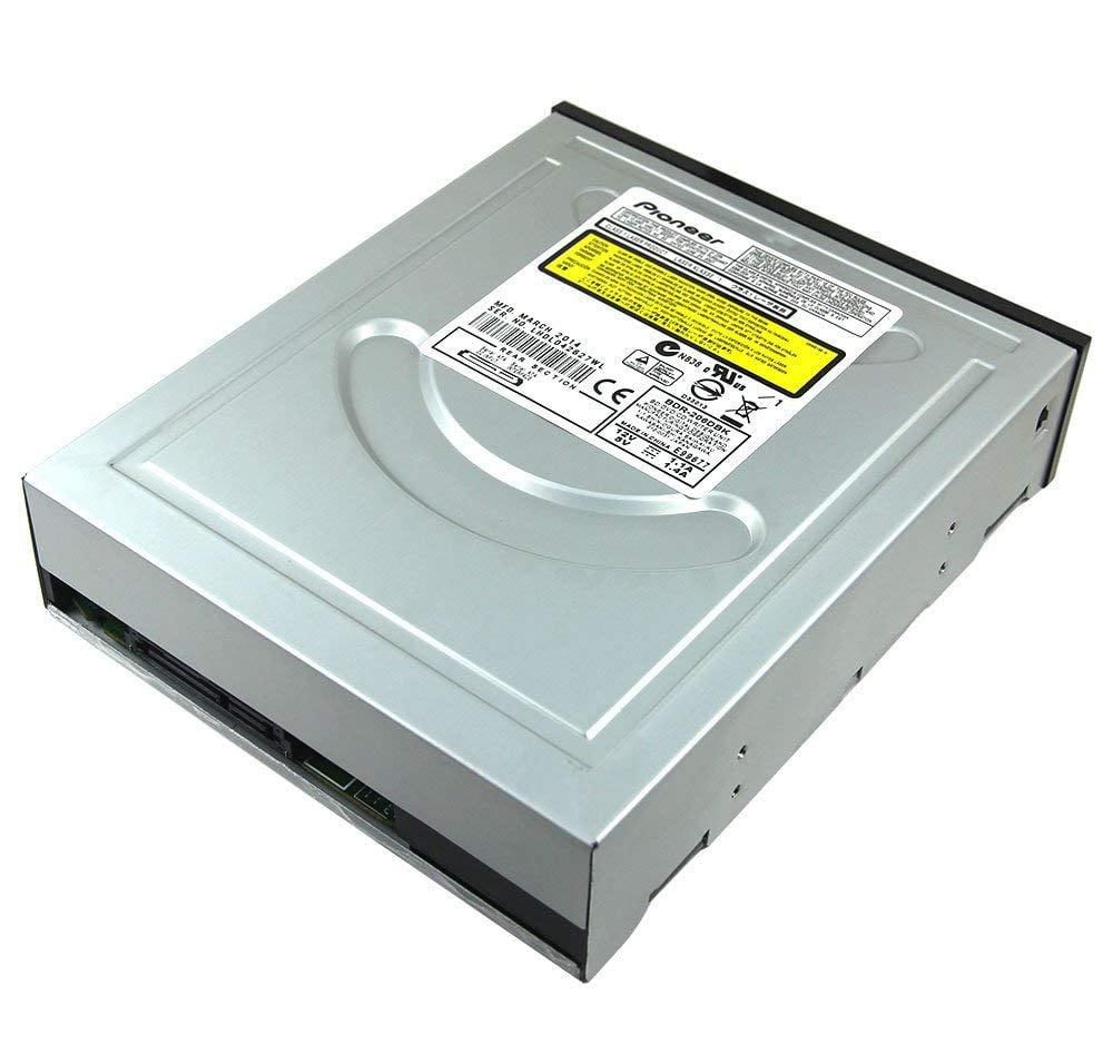 New Internal Dual Layer 12 X 3D Blu-ray Burner SuperMulti BD-RE BD-R DL 50GB BDXL Blue-ray Writer Pioneer BDR-206 SATA DVD Op