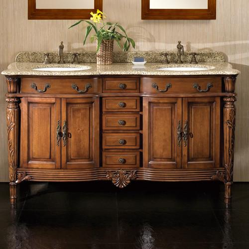 Ove Decors Karen 60'' Double Bathroom Vanity Set