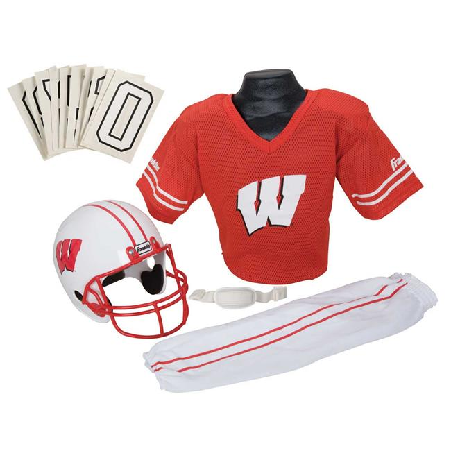 Franklin Sports 15500F45P1Z COL WISCONSIN Small Uniform Set