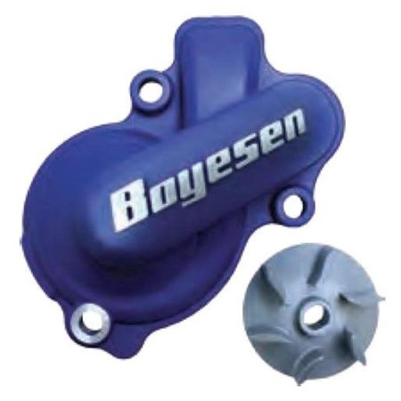 Boyesen WPK-41L Hy-Flo Water Pump Cover and Impeller Kit - Blue
