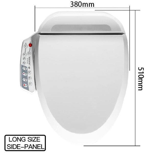 Foheel Smart Toilet Seat Cover Electronic Bidet Cover Clean Dry Seat Heating Wc Walmart Com Walmart Com