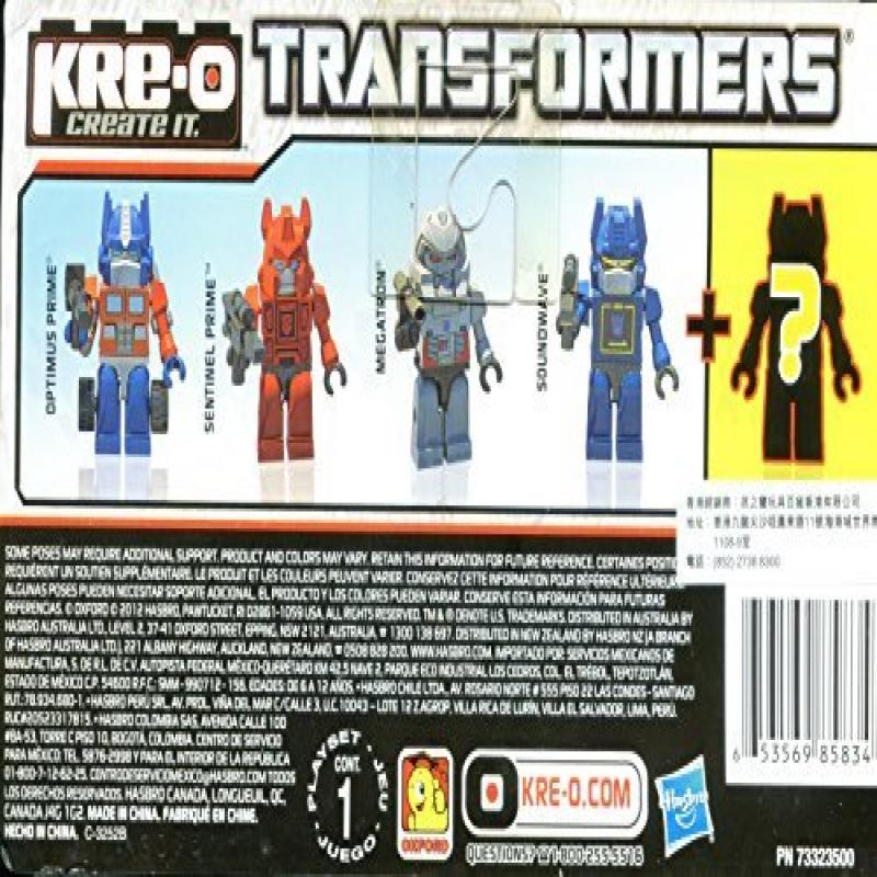 Hasbro KRE-O Minifigures TRANSFORMERS Ultimate SUPER MAXIMA Kreon Collection Set B 5 Figures