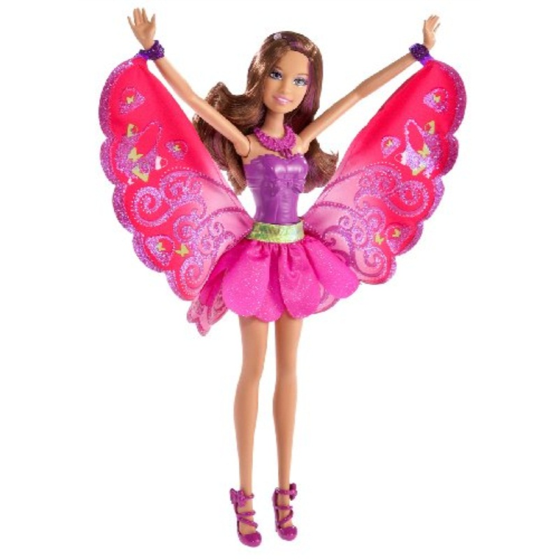 Barbie A Fairy Secret Fashion Fairy Friend Brunette Doll by