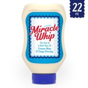 Miracle Whip Light Dressing 22 fl oz Squeeze Bottle