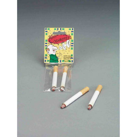 Fake Cigarettes Halloween Costume Accessory (Fake Contact Lenses For Halloween Uk)