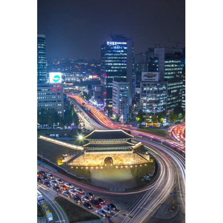 Sungnyemun Gate (Namdaemun Gate), Seoul, South Korea Print Wall Art By Jon -
