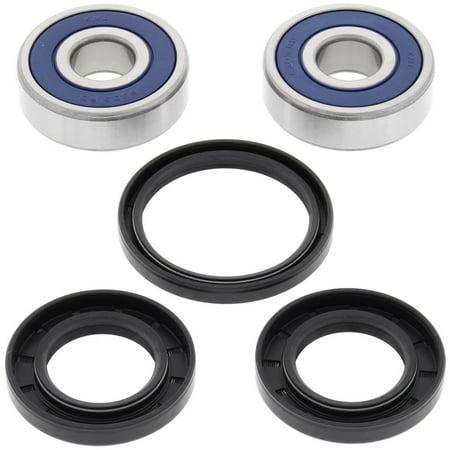 New All Balls Front Wheel Bearing Kit 25-1448 for Yamaha XVS95 V STAR 2011 2012 2013 2014 2015 2016 2017 11 12 13 14 15 16 17, RD350 1973 1974 1975