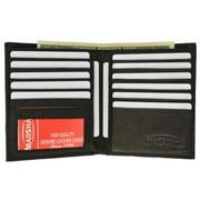 Genuine cowhide leather European hipster wallet 2502CF