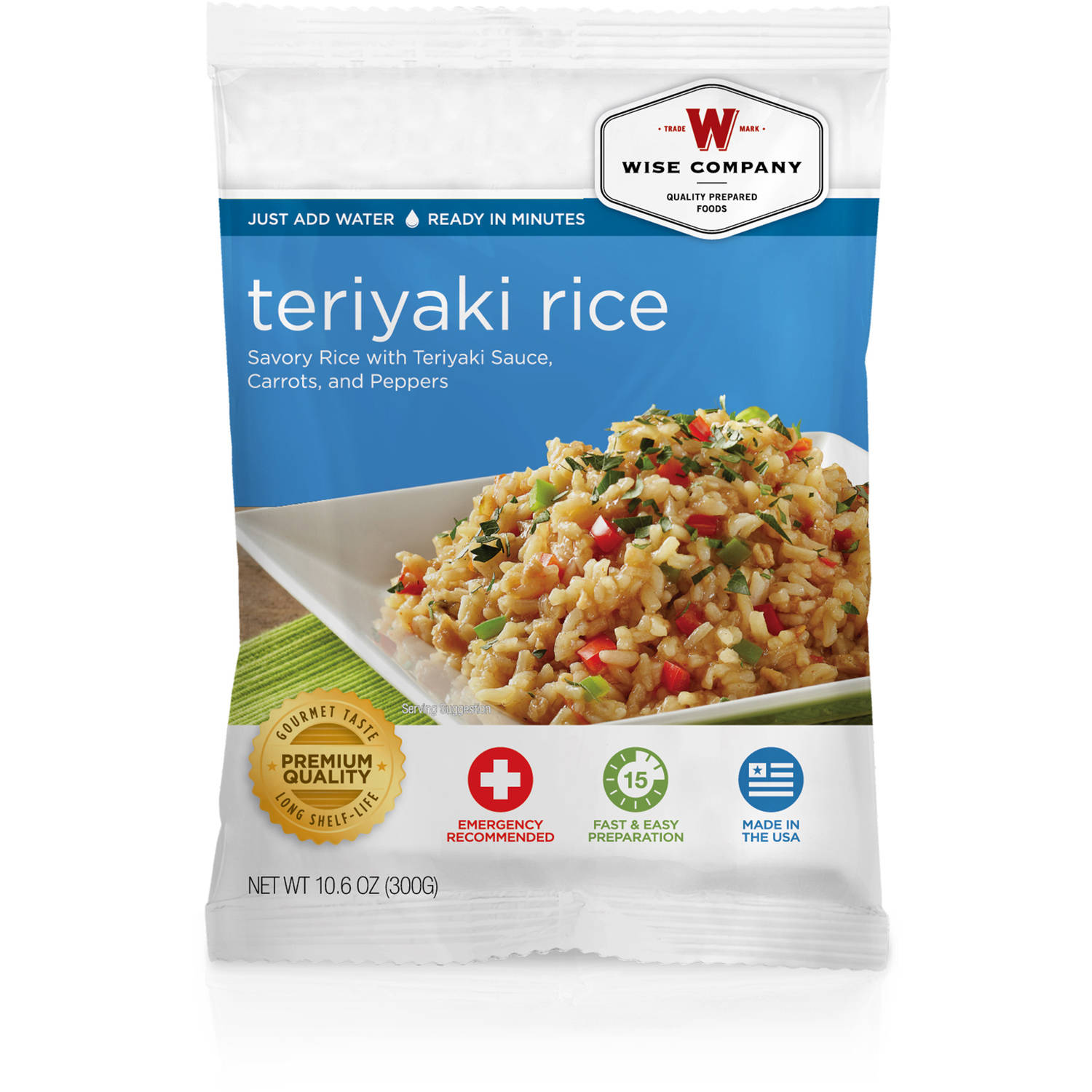 Wise Company Teriyaki Rice, 10.6 oz