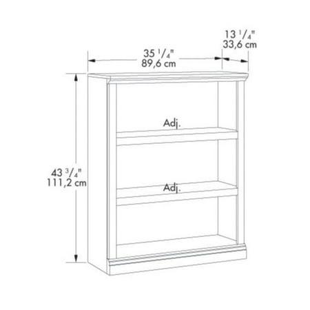 Scranton & Co 3 Shelf Bookcase in Select Cherry - image 2 of 3