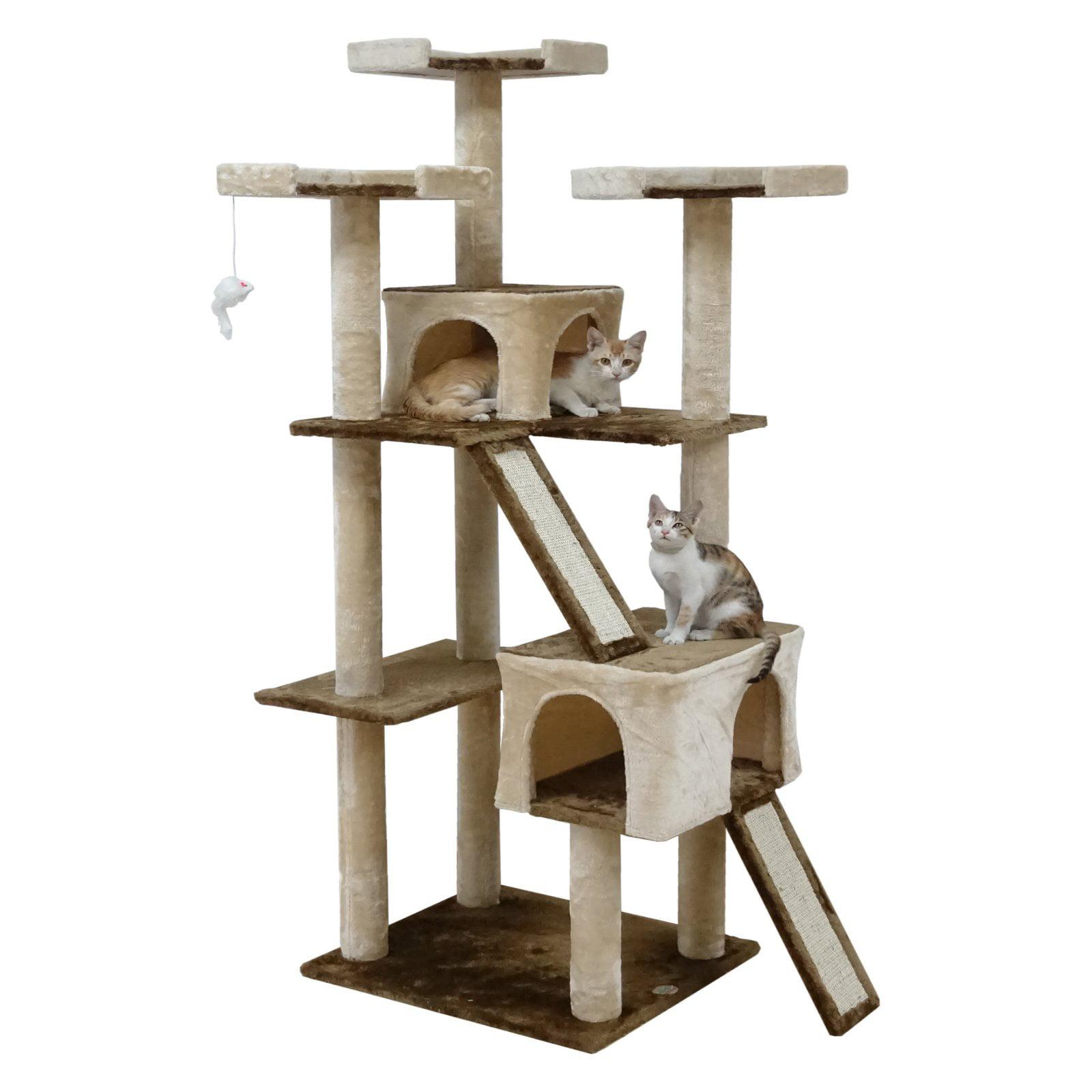 Go Pet Club 71 in. Cat Tree Condo