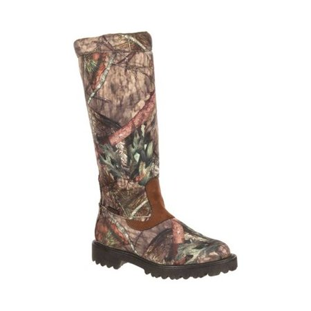 Mossy Oak Men's Rocky Low Country Waterproof Snake Boot RKS0232 (Snake Boots 18 Inch)