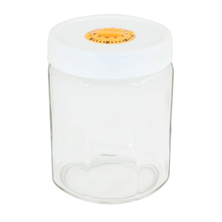 Family Kitchenware Glass Airtight Seal Candy Food Storage Canister (Glass Kitchenware)
