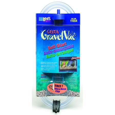 Lees aquarium pet fish gravel vacuum cleaner with nozzle for Walmart fish gravel