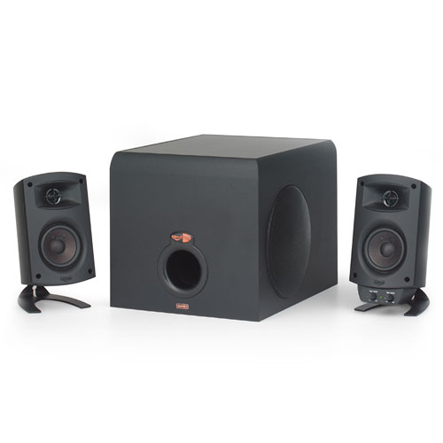 Klipsch ProMedia 2.1 THX Certified Speaker System Black by Klipsch