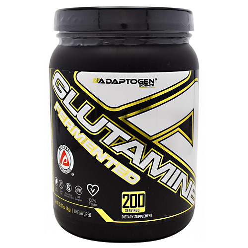 Adaptogen Science Essential Series Glutamine Unflavored - 200 Servings