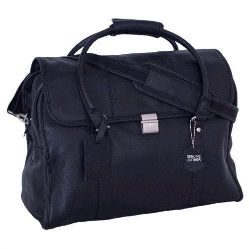 Mercury Luggage Sondrio Leather Travel Satchel