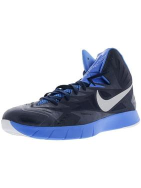0fd56eb4db22 Product Image Nike Men s Lunar Hyperquickness Tb Gym Red Metallic Silver  Bright Crimson Ankle-High