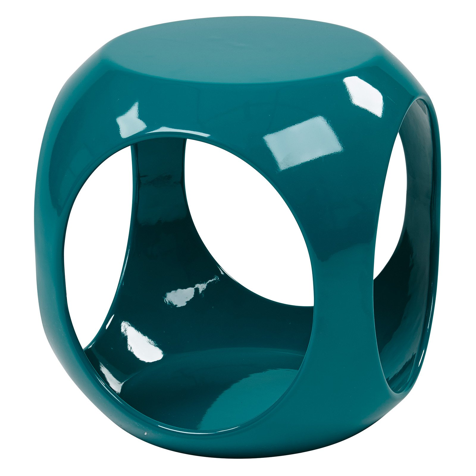 Slick Accent Table, Blue