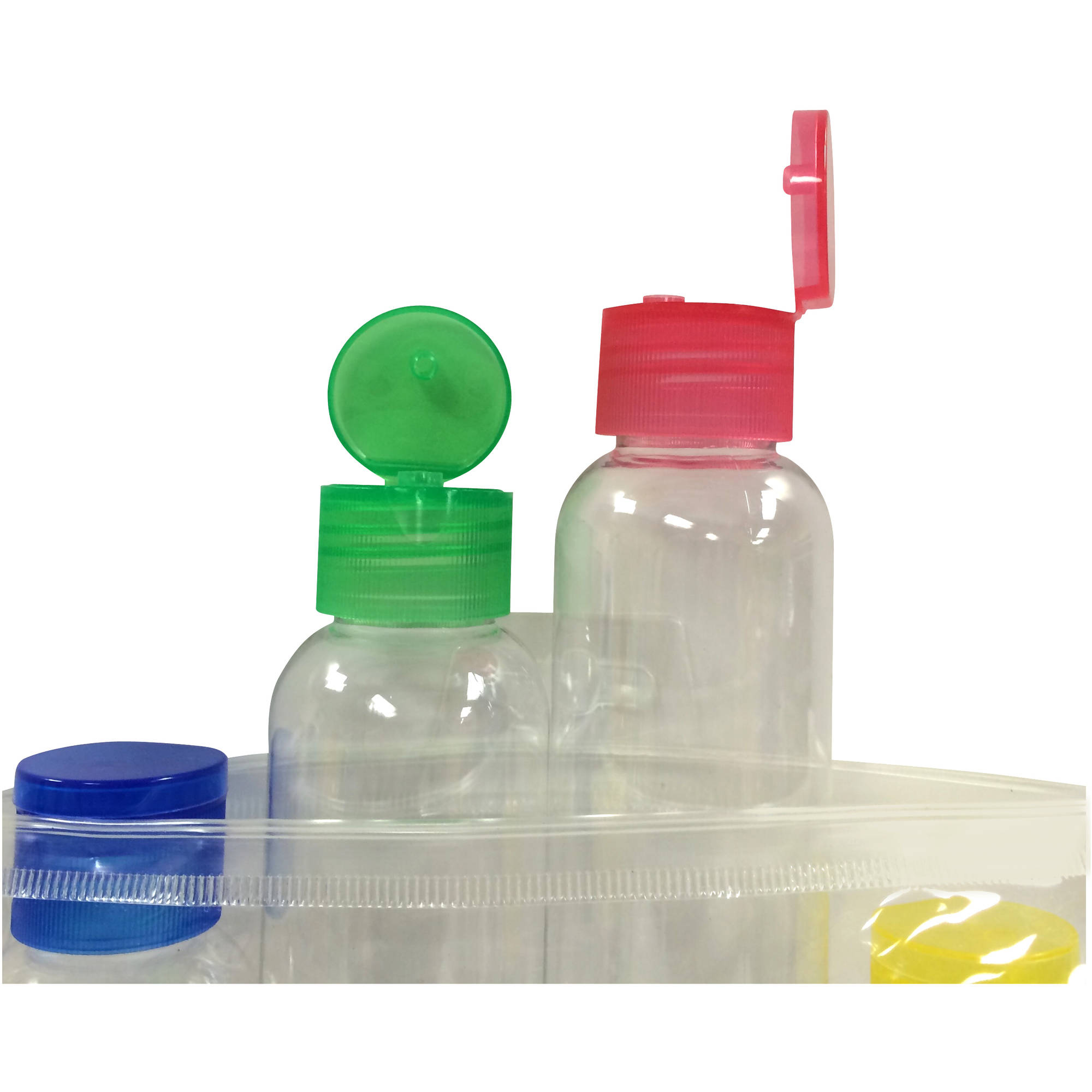 iGo Grab-N-Go Travel Bottles, 3 oz, 4 ct