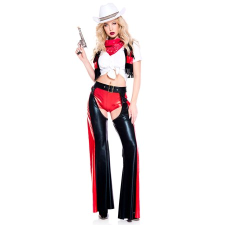 Ride 'em Cowgirl Costume](Cowgirl Boots Costume)