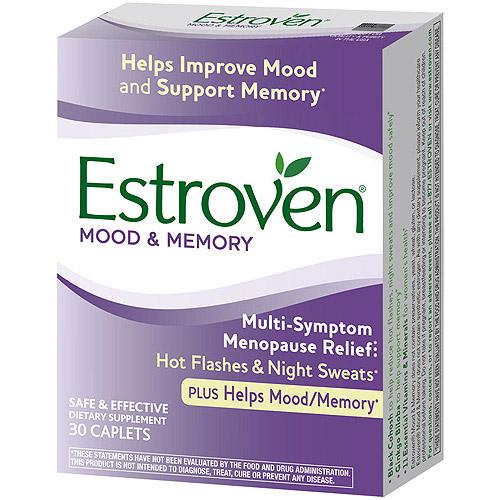 Estroven Plus Mood & Memory Menopause Supplement, 30 ct