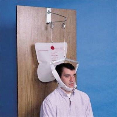 Hanging Over The Door Cervical Neck Traction Unit Device Head Overdoor Brace