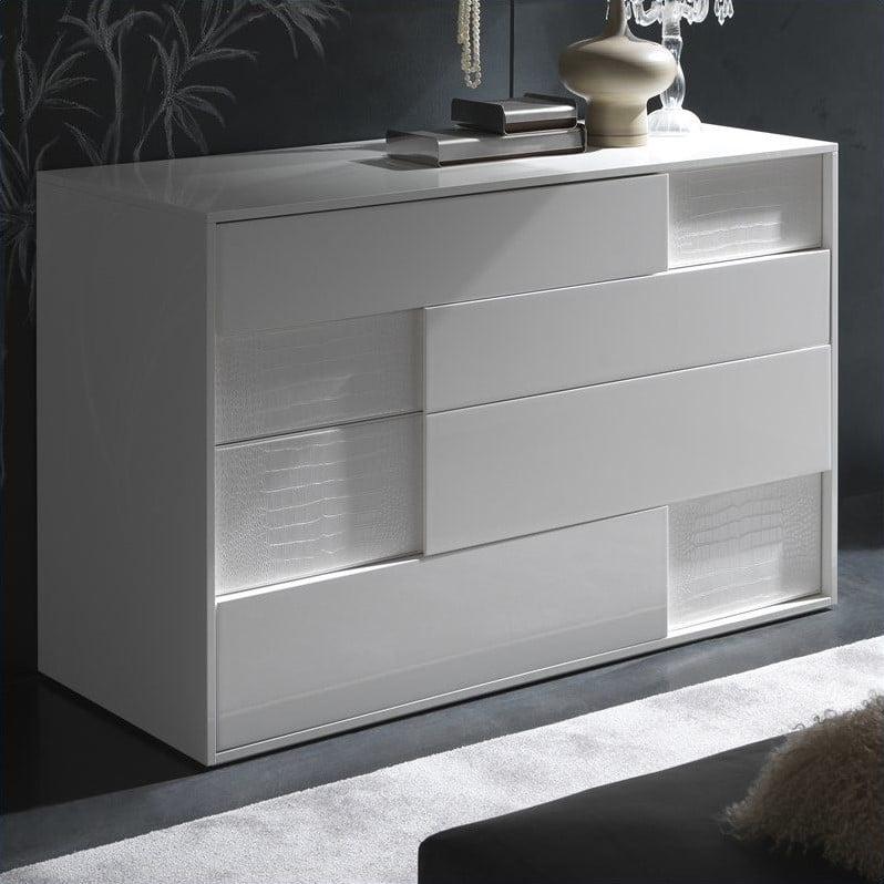 Rossetto Nightfly Dresser in White