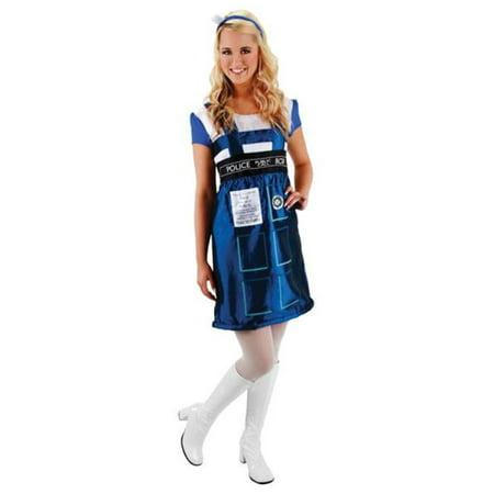 Doctor Who Tardis Dress Sm Md