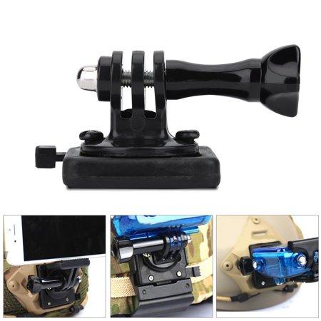 WALFRONT Support adaptateur de base pour casque militaire pour caméscope Gopro, adaptateur pour casque de caméra, support de casque militaire - image 4 de 9