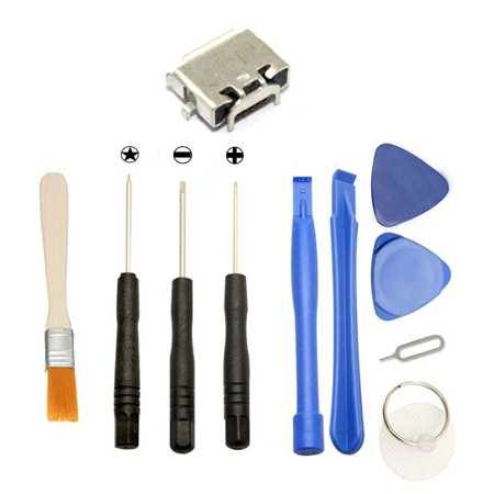 Games Micro Usb Charging Port Charger   Tools For Dell Venue Pro 8 3845 T01d 32Gb Tablet