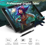 BOSTO 16HDK Portable 15.6 Inch H-IPS LCD Graphics Drawing Tablet Display 8192 Pressure Level Active Technology USB-Powered