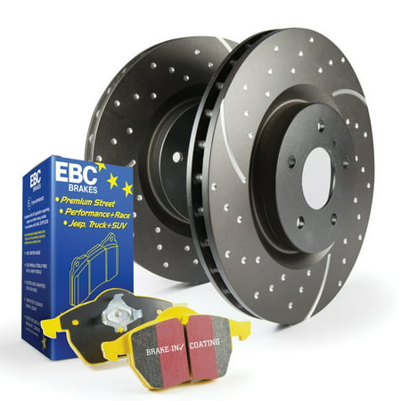 EBC Brakes S5KR1237 S5 Kits yellowstuff And GD Rotors Fits 06-13 3 3 Sport ()