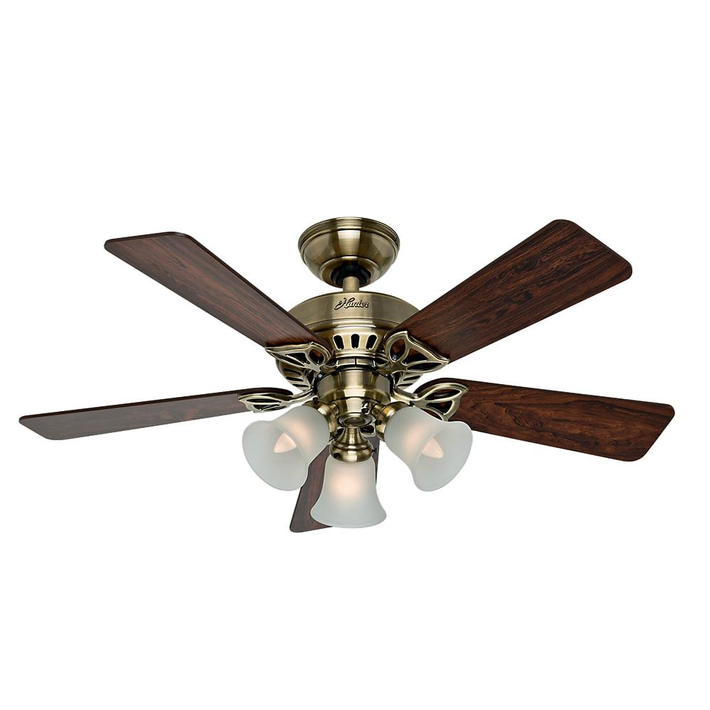 """Hunter Fan Company 53078 The Beacon Hill 42"""" Ceiling Fan with 5 Rosewood Medium Oak... by Hunter"""