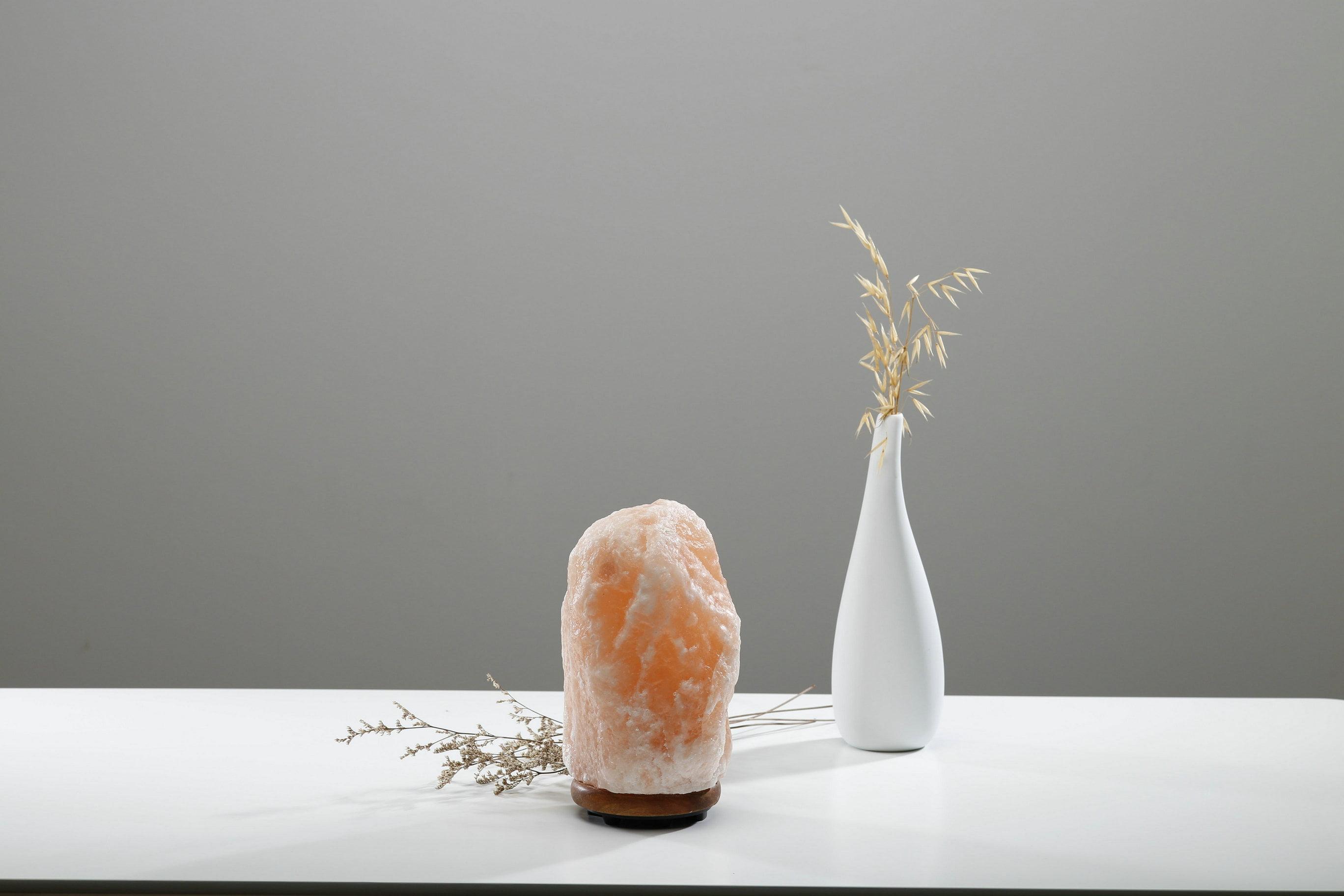 Product features for Wbm 7 tall himalayan natural crystal salt lamp