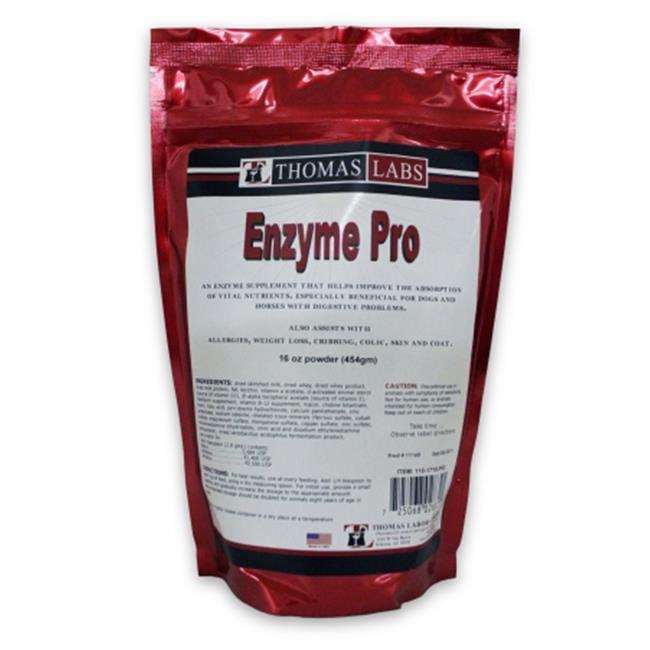 THOMAS LAB 015TL22-16 Enzyme Pro Powder  16 oz