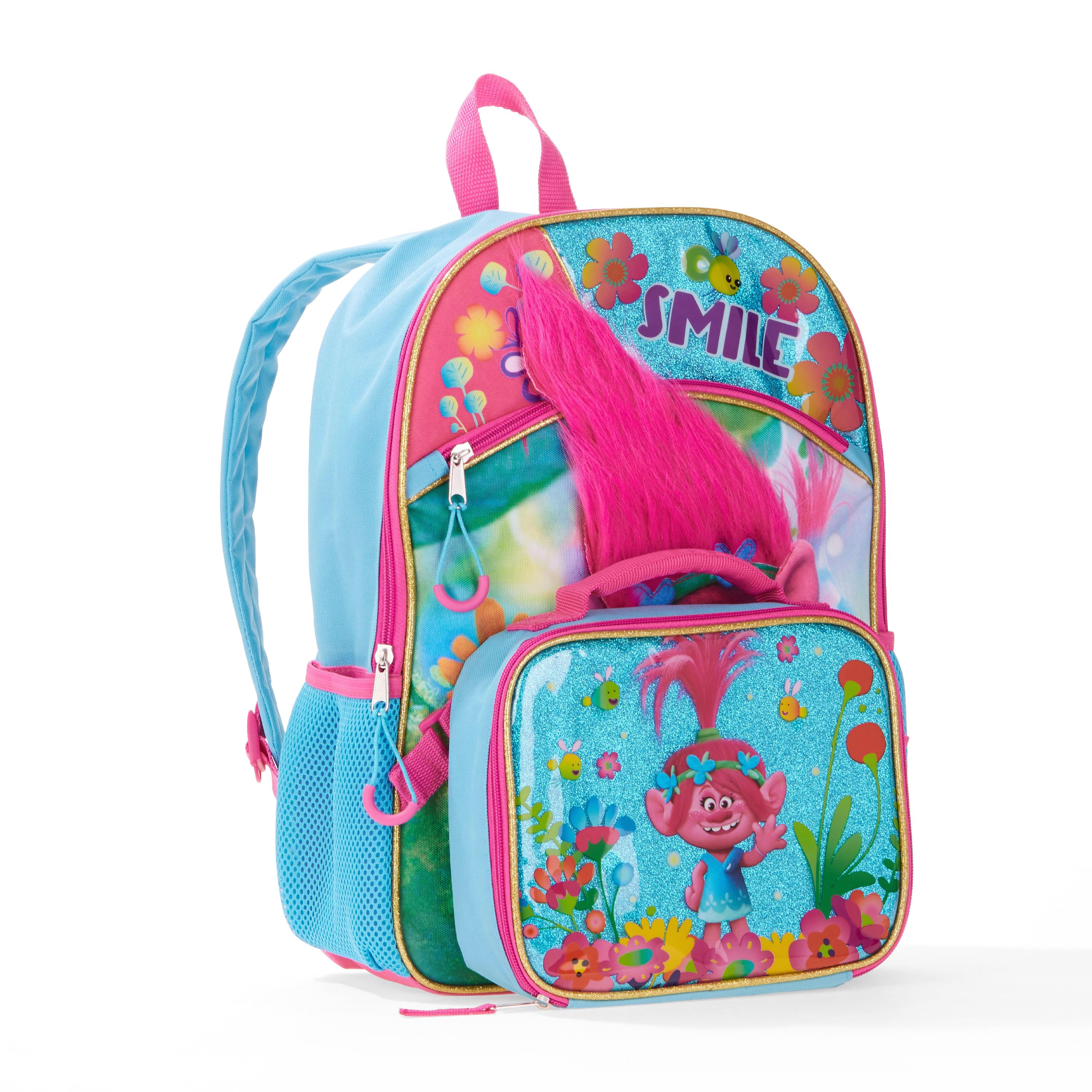 Trolls Backpack w/ Lunch Bag