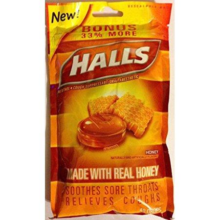 Upc 312546002272 Halls Cough Drops Honey Flavored