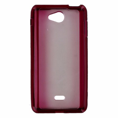 Metropcs Hybrid Shell Case For Lg Spirit 4G   Frost   Pink