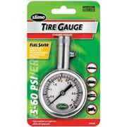 Slime Large Face Dial Tire Gauge (5-60 psi) - 20049