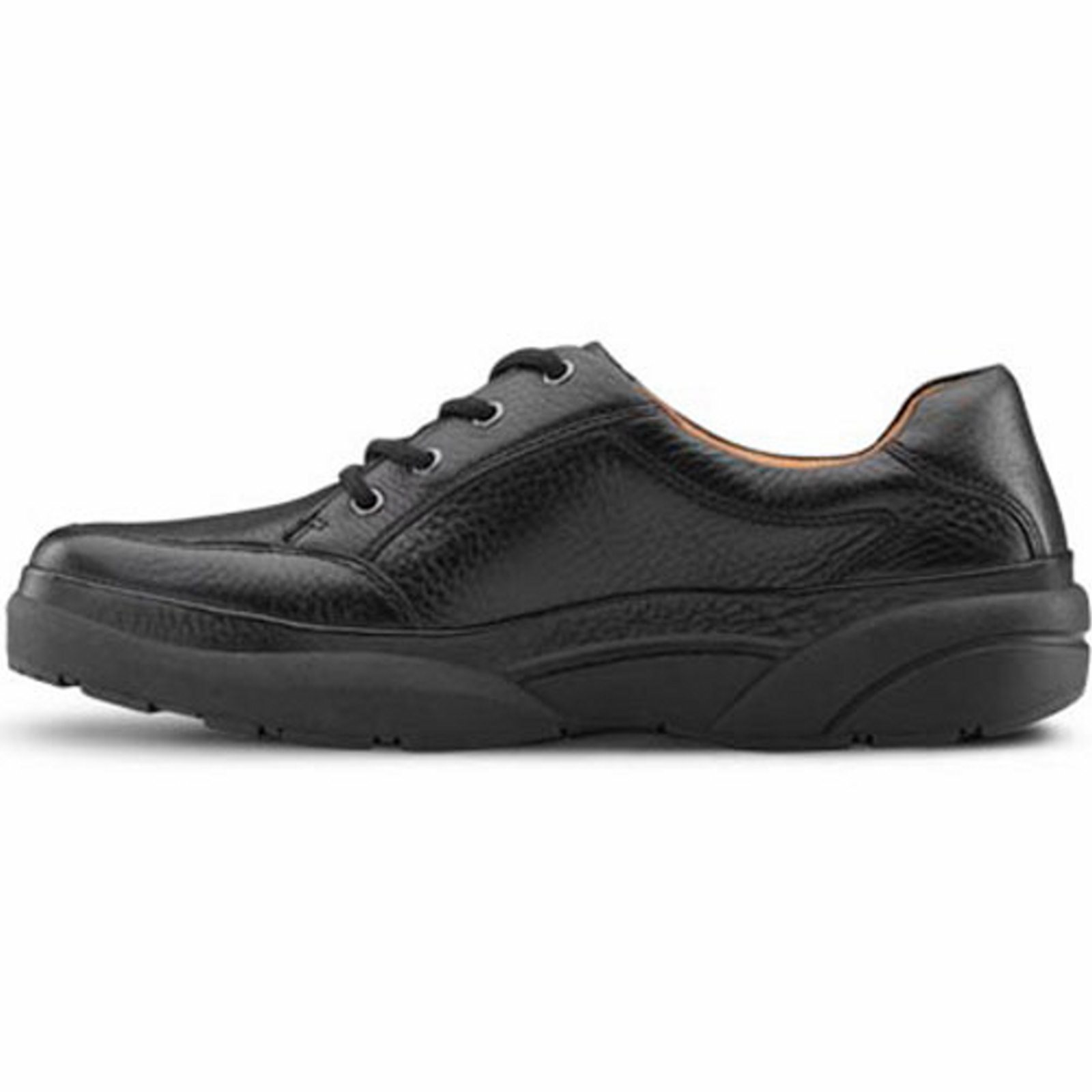 Dr. Comfort Justin Men's Casual Shoe: 13 Wide (E/2E) Black Lace