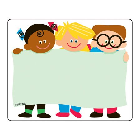 Name Tags, TREND Kids (T-68003), 36 self-adhesive tags By Trend Enterprises