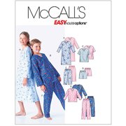 McCall's Pattern Boys' and Girls' Shirt, Tops, Shorts and Pants, CS (12, 14, 16)