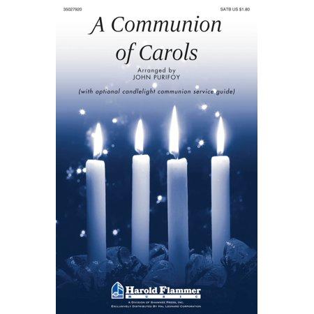 Shawnee Press A Communion of Carols SATB arranged by John Purifoy - Present For First Communion