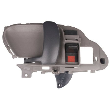 1995 1996 1997 1998 1999 Chevrolet Pickup GRAY LH Drivers Side Inside Door Handle for Chevy Pickup Left Hand Driver Interior Handle 95 96 97 98 99, BRAND NEW in.., By KC Truck Parts