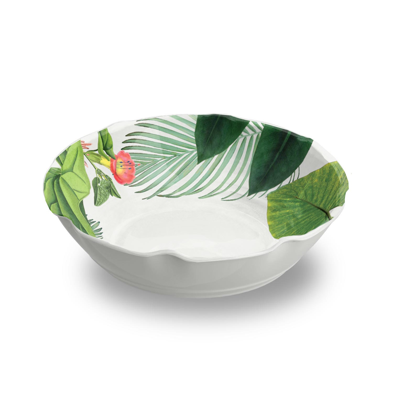 Amazon Floral Pasta Bowl Heavy Mold, 6 Dining Bowls by