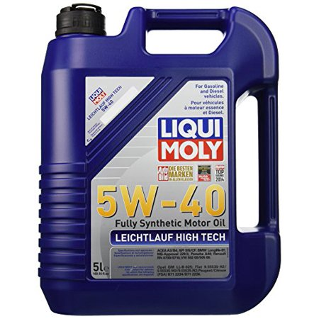 Liqui Moly 2332 Leichtlauf High Tech 5W-40 Engine Oil - 5 - Liqui Moly Oil