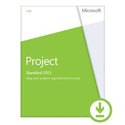 Microsoft Project 2013  Key Card  No Disc