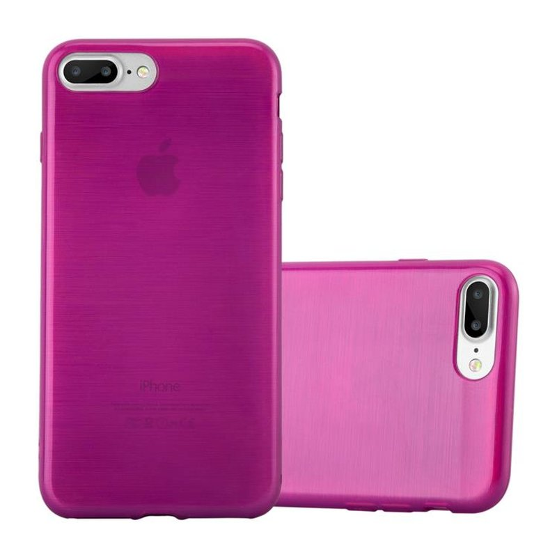 Cadorabo Case for Apple iPhone 8 PLUS / iPhone 7 PLUS / iPhone 7S PLUS cover - Ultra Slim TPU Silicone Cover